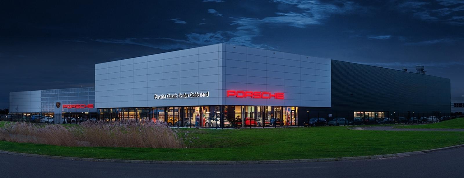 Welkom. - Porsche Classic Center Gelderland.