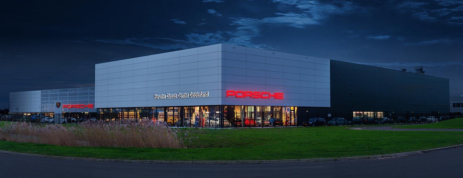 Welkom bij Porsche Classic Center Gelderland. -