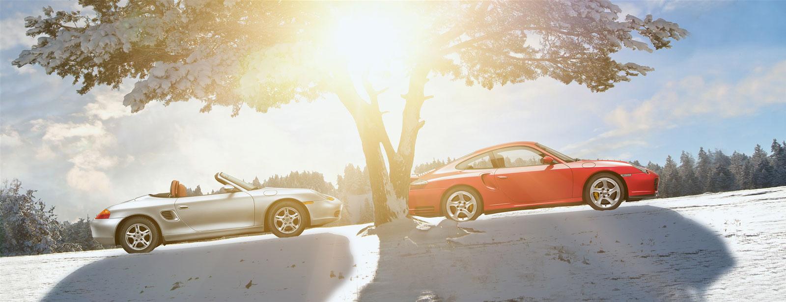 Welcome to classic. - Porsche Boxster (986)   Porsche 911 (996).