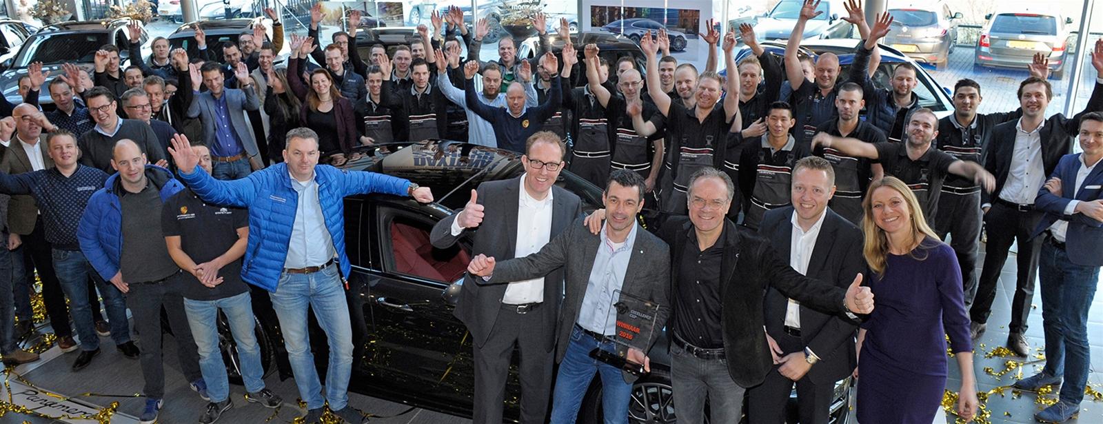 Trots. - Winnaar Porsche Excellence Cup 2016.