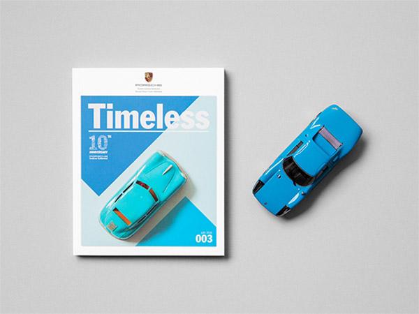 Timeless Magazine #3. Kleinste Porsche-magazine ter wereld.