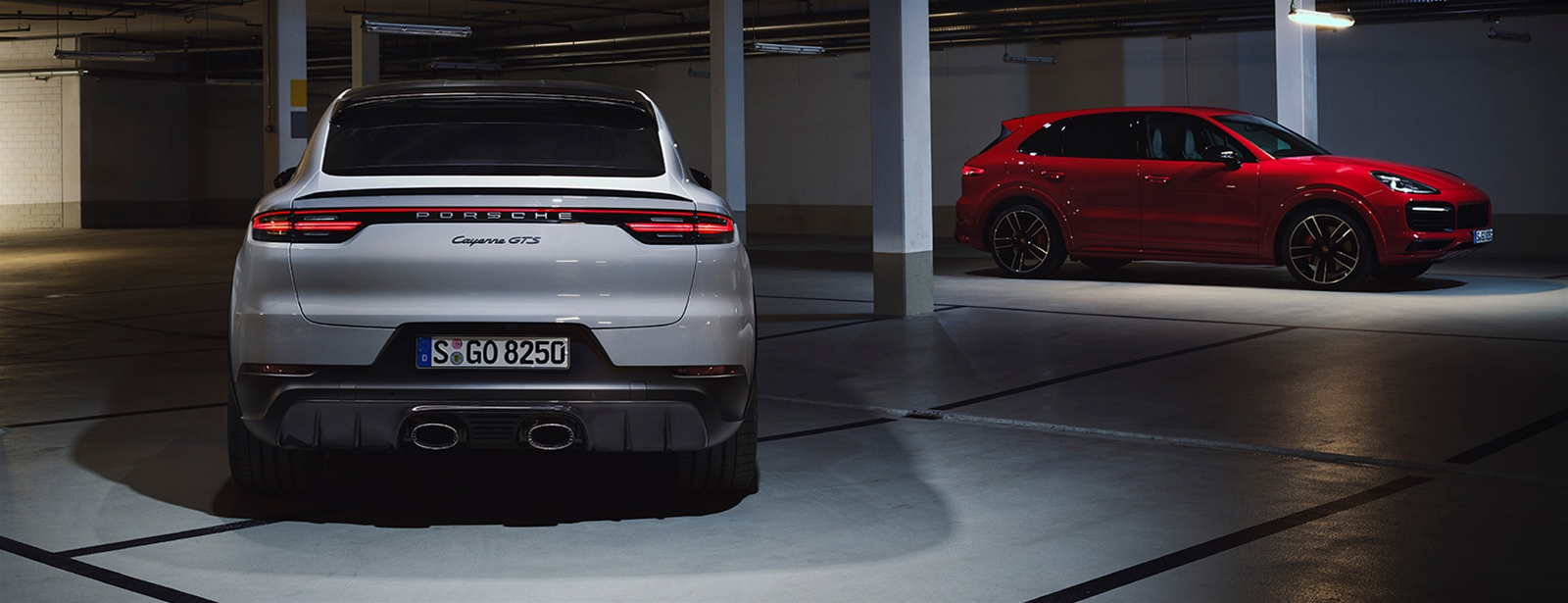 More of what you love. - De nieuwe Cayenne GTS modellen.