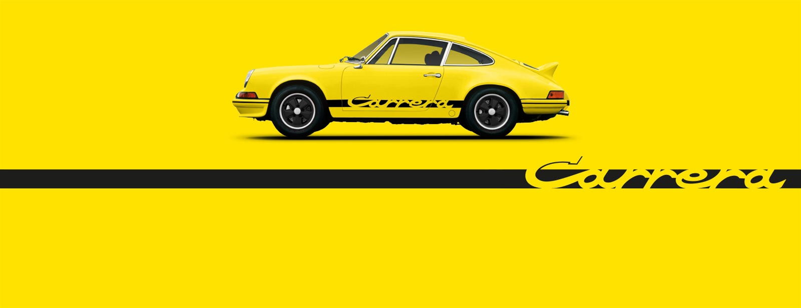 The history. - Porsche 911 Carrera RS.