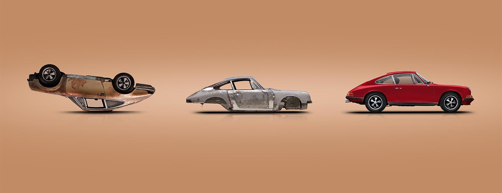 We build your classic dream.  - Porsche Classic Center Gelderland.