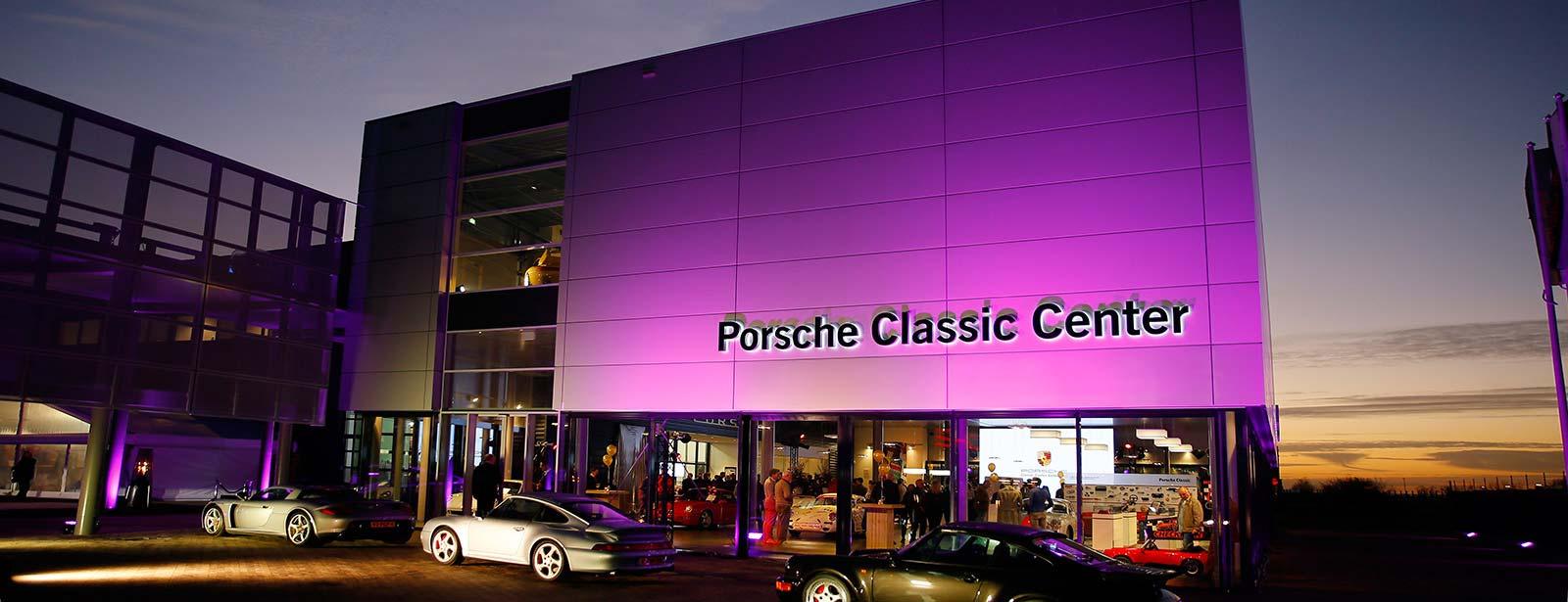 Opening Porsche Classic Center