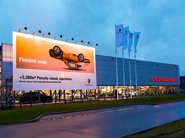 Meer dan 5.380 m2 Porsche Classic Experience.