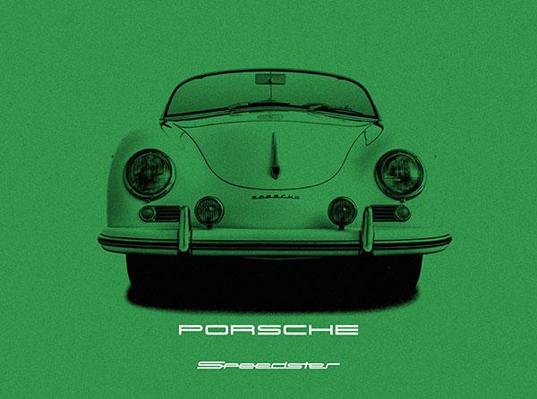 Porsche 356 Speedter Green.