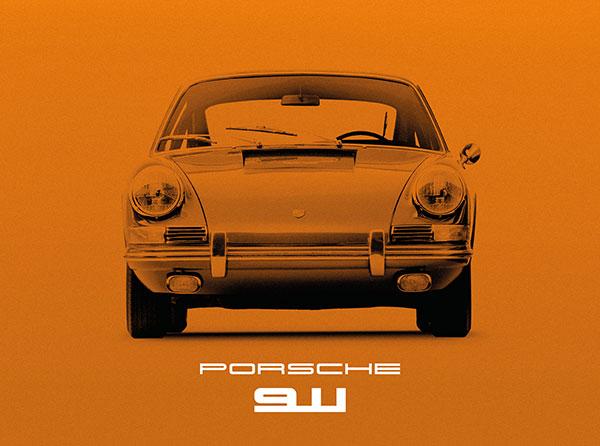 Porsche 911 Orange.
