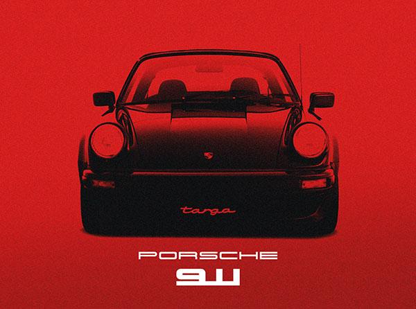 Porsche 911 Red.
