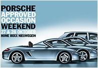 Porsche Approved Occasion Weekend 27 en 28 oktober 2012