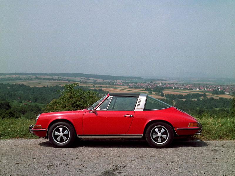 911 T 2.2, 911 T 2.2 Targa (1970 - 1971)
