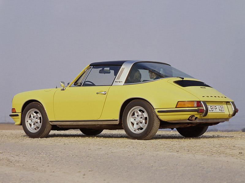 911 E 2.4, 911 E 2.4 Targa (1972 - 1973)